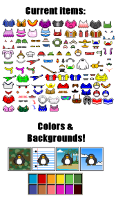 pixel-penguins