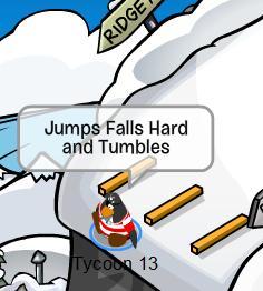 Jumps and falls